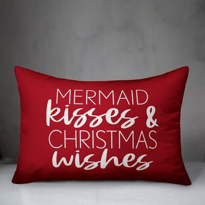 Deckert A White Christmas Square Pillow