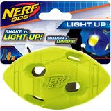 Nerf Dog Light Up LED Bash Football Dog Toy, 4-in
