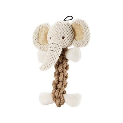 Petique Eco Pet Tough Hemp Elephant Dog Toy