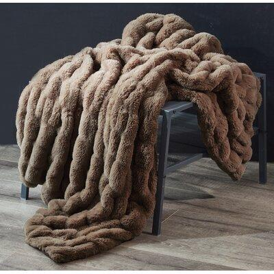 Union Rustic Faycelles Faux Fur Faux Fur In Brown Size Throw Wayfair Fa3601ab927a4777b5c1fd35beb67904 Ibt Shop