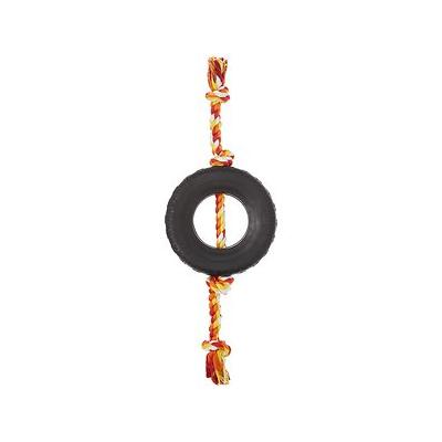 Frisco - Frisco Tire Tusslers Rubber Dog Toy, Red, X-Large