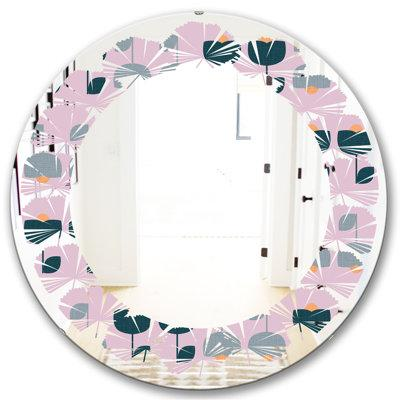 East Urban Homeeast Urban Home Leaves Floral Pattern Xiii Cottage Americana Frameless Wall Mirror Size 24 H X 24 W Wayfair 73591464a7e345609230df98dc7412ac Dailymail