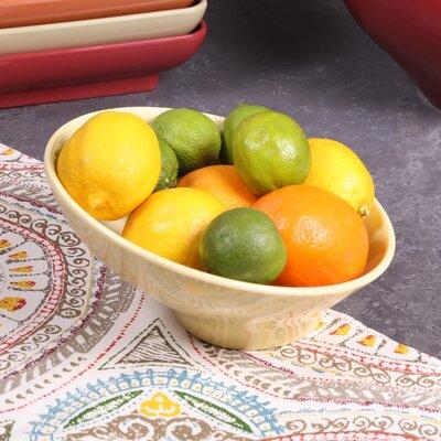 Elite Global Solutions Pappasan Melamine 28 Fl Oz Serving Bowl M9 Color Banana Crepe Shefinds