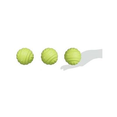 iDogmate - iDogmate Washable Tough Dog Ball Toy, 2.5-in, 3 count