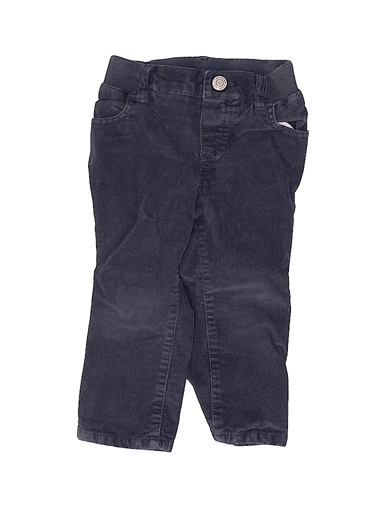 Baby Gap Casual Pants - Elastic: Blue Bottoms - Size 18-24 Month