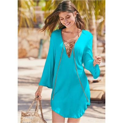 Roman Cover-Up Beach Dress Cover...