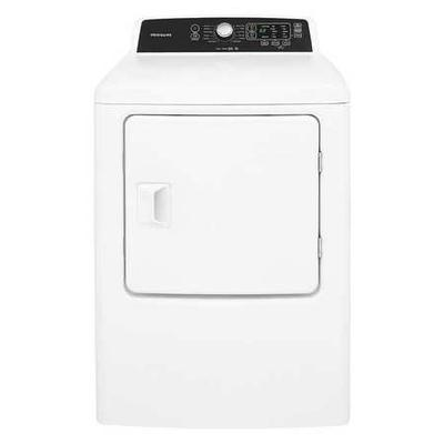 "FRIGIDAIRE FFRE4120SW Dryer,White,Electric,42-7/8"" H"
