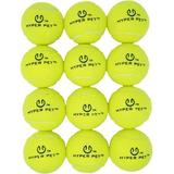 Hyper Pet Tennis Balls Dog Toy, 12 count