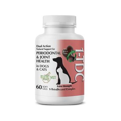 1-TDC Periodontal & Joint Health Dog & Cat Supplement, 60 count