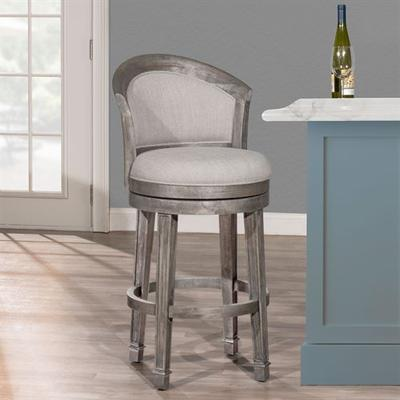 Vermeer Swivel Bar Stool Dark Gray Bar, Bar, Dark Gray