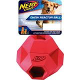 Nerf Dog Reactor Hex Ball Dog Toy, 2.75-in