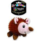 Spunky Pup Lil' Bitty Squeakers Hedgehog Squeaky Plush Dog Toy