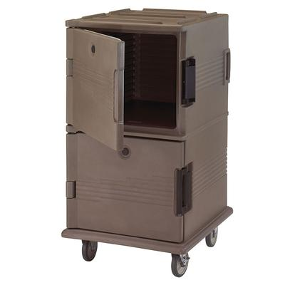 Cambro UPC1600HD194 Ultra Camcart? Insulated Food Carrier w/ (24) Pan Capacity, Granite Sand
