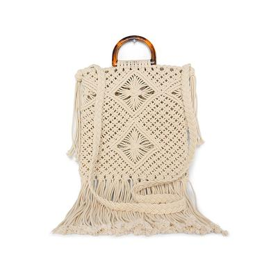 Macrame Handbag Accessories & Handbags - Neutral