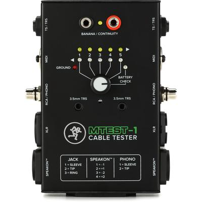 Mackie MTest-1 7 in 1 Cable Tester
