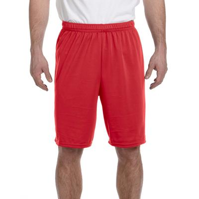 Augusta Sportswear 1420 Athletic Adult Training Short in Red size 2XL | Polyester