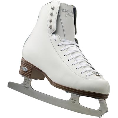 Riedell 33 Diamond Junior Girls Figure Skates White