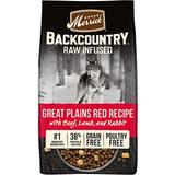 Merrick Backcountry Raw Infused Grain Free Dry Dog Food Great Plains Red Recipe, 4-lb bag