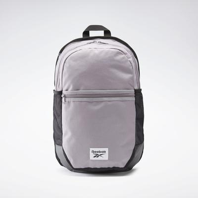 Reebok Unisex Workout Ready Active Backpack in Gravity Grey Size N SZ - Training Accessories
