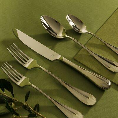 Service for 4 Gourmet Settings Diva 20-Piece Stainless Steel Flatware Set