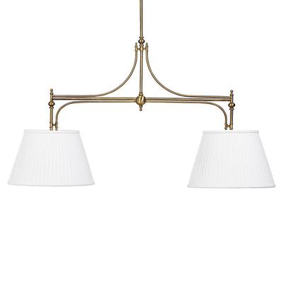 Get The Margot Double Shade Pendant Lynx Pleated Blue Ballard Designs From Now Accuweather Shop
