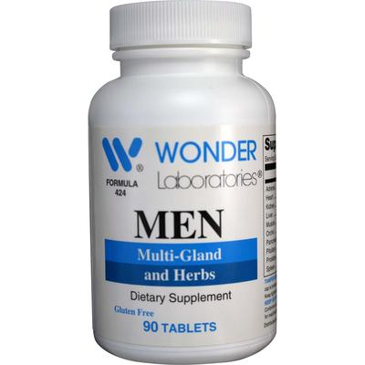 Men | Multi-Gland and Herbs (90) - Wonder Labs