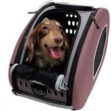 ibiyaya - ibiyaya 5-in-1 Combo EVA Airline-Approved Dog & Cat Carrier & Stroller, Brown