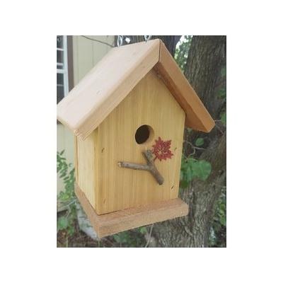 Bird Houses by Mark Cedar Wren Bird House
