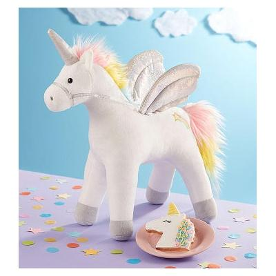 Gund® Light Up Unicorn Plush with Cookie Unicorn Plush and Cookie by 1-800 Flowers