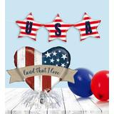Patriotic Balloon Party Kit Patriotic Party Kit by 1-800 Flowers