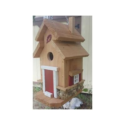 Bird Houses by Mark Chesapeake Cedar Bird House, Red
