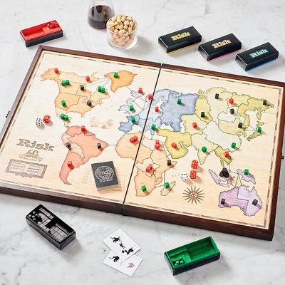 Risk 60th Anniversary Edition Board Game - Frontgate