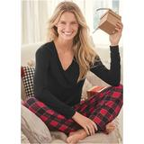 2Pc Sleep Set Pajamas & Sleep - Black/Red
