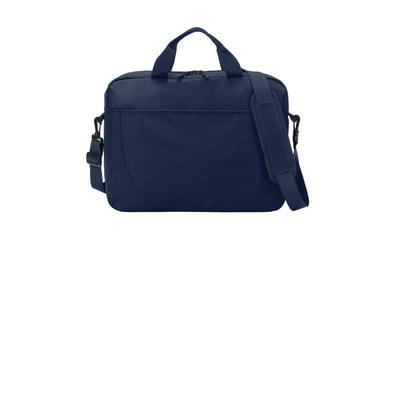 Port Authority BG318 Access Briefcase in River Blue Navy size OSFA | Canvas