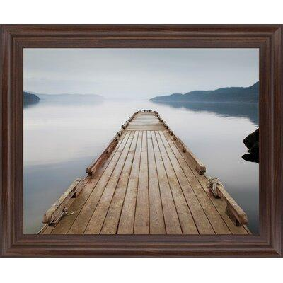 Millwood Pines Off Orcas Island By Michael Cahill Picture Frame Photograph Print On Plastic Plastic Acrylic In Brown Blue Size Medium 25 32 Sportspyder