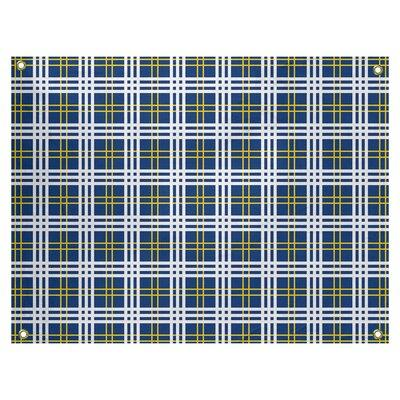 East Urban Home Polyester La Luxury Tapestry Polyester In Royal Blue Gold White Size 59 H X 80 W Wayfair D3ef3aca453843fbb2d52179abb498a4 Shefinds