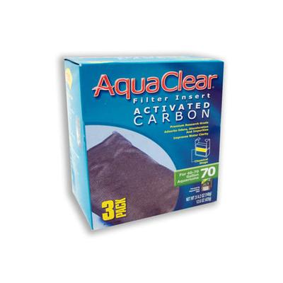 AquaClear Activated Carbon Filter Inserts, 70, 70 GAL