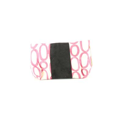 Madison Handbags Clutch: Pink Solid Bags