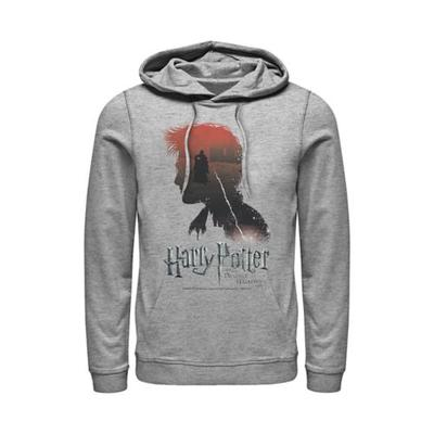 Fifth Sun™ Athletic Heather Harry Potter The Boy Who Lived Fleece Graphic Hoodie