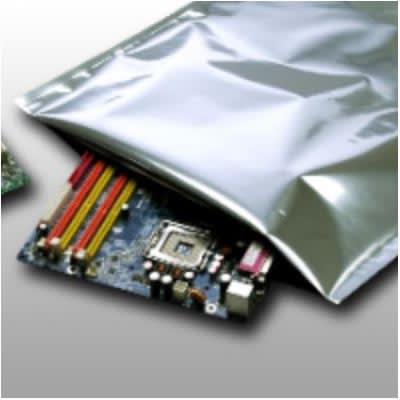 """Elkay Plastics BB361020 Barrier Bag for Electronic Components - 10"""" x 20"""", 3.6 mil, Gray"""