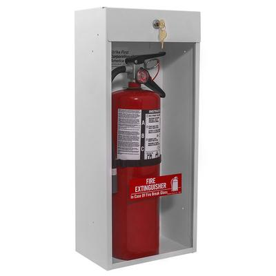 Strike First SF-999-HT Surface Mount Fire Extinguisher Cabinet for 10# Fire Extinguisher with Breaker Bar and Safety Locks