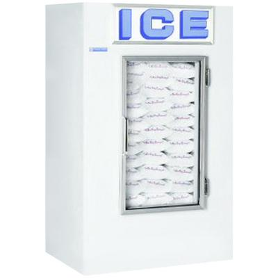 Polar Temp 420CWG Cold Wall Indoor Ice Merchandiser - 42 cu. ft.