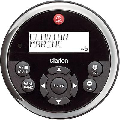 Clarion MW1 Marine Remote Control Watertight remote w/ LCD screen black