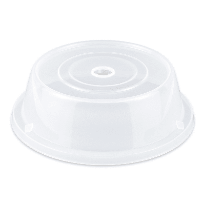 GET CO-94-CL Cover For 9.25 To 10 Round Plates, Clear Polypropylene on Sale