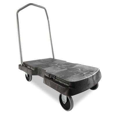 Rubbermaid FG440100BLA 500 lb Platform Truck - 32.5L x 20.5W on Sale