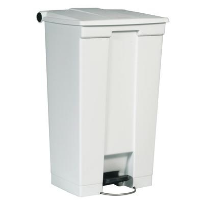 Rubbermaid FG614600WHT 23 gal Step-On Container - White on Sale