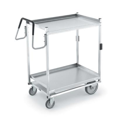 Vollrath 97205 2 Level Stainless Utility Cart w/ 650 lb Capacity, Raised Ledges on Sale