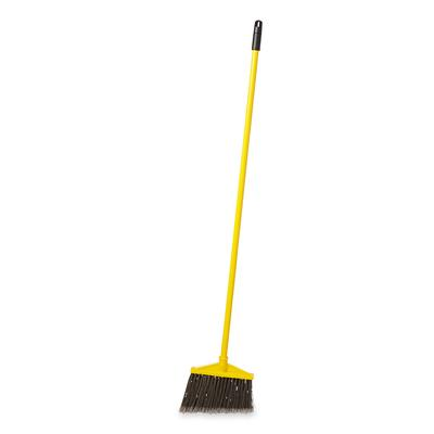Rubbermaid FG637500GRAY 56L BRUTE Lobby Broom w/ Angle Bristles & Gray Handle on Sale