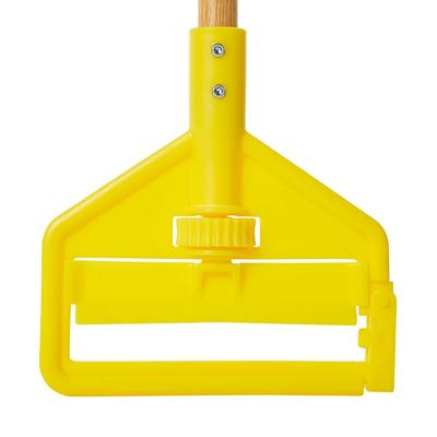 Rubbermaid FGH116000000 60 Invader Wet Mop Handle - 1 Headbands, Plastic/Yellow on Sale