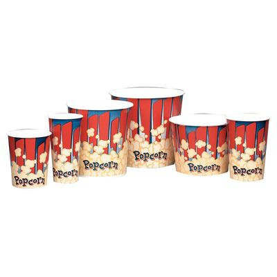 Gold Medal 2132RB 24 oz Red Disposable Popcorn Butter Cups, 1,000/Case on Sale